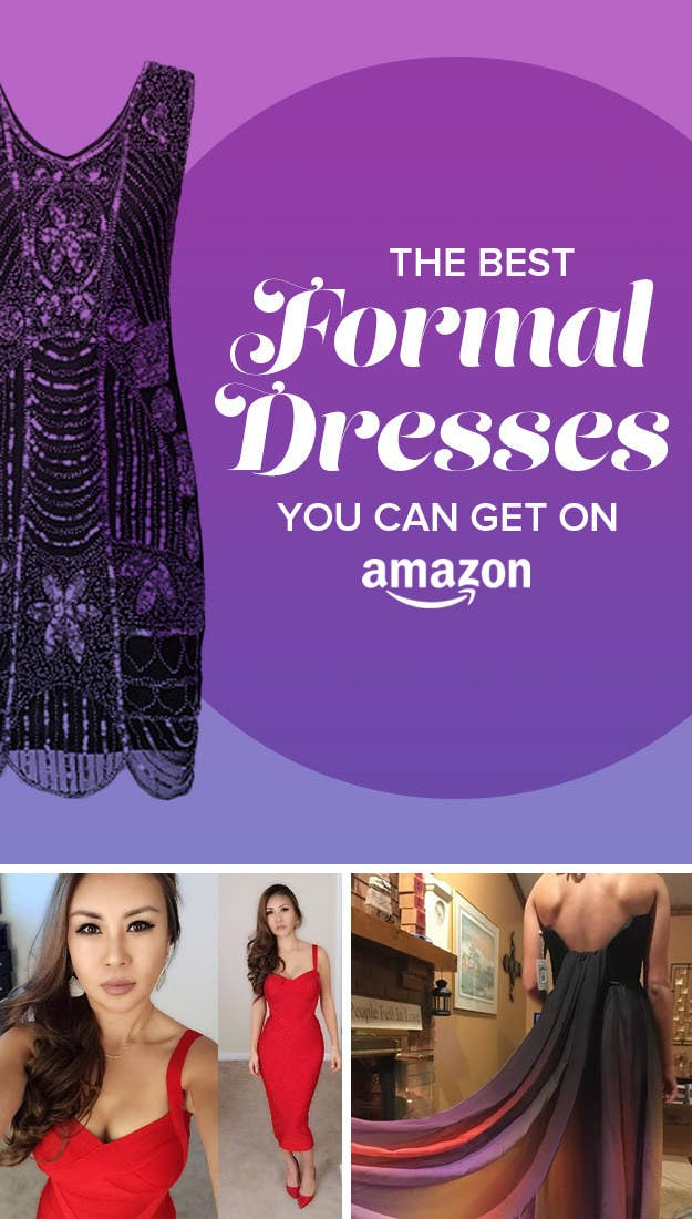 34 Of The Best Formal Dresses You Can Get On Amazon
