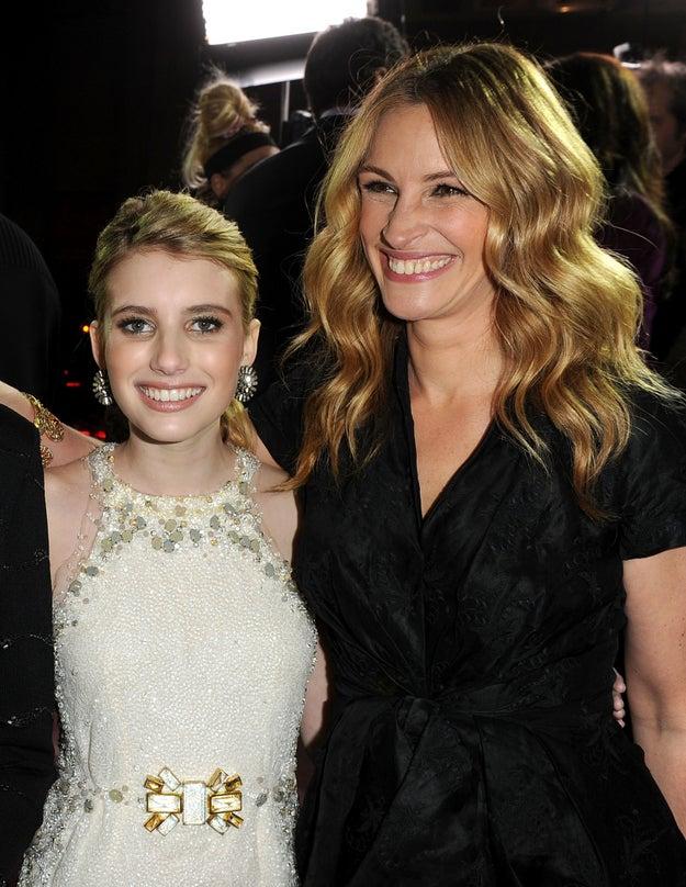 Julia y Emma Roberts.