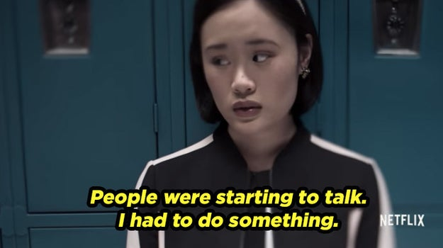 We then get a glimpse of the thoughts of Hannah's classmates, some who perhaps feel guilty...