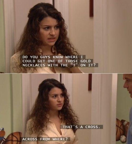 That time Maeby got religious: