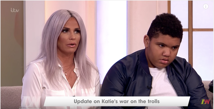 In fact, Katie and Harvey both made an appearance on Loose Women last year to speak about the trolling, with her campaigning to name the offenders and demand apologies.