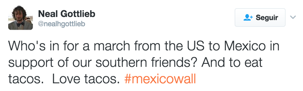 """""""Who is aiming for a United States march to Mexico in support of our southern friends?"""""""