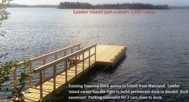 Leader Island, Canada, $125,841