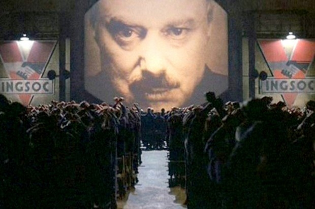 George Orwell's 1948 novel 1984 is a story set in a dystopian future where the day-to-day life of people is controlled by an oppressive, totalitarian government.