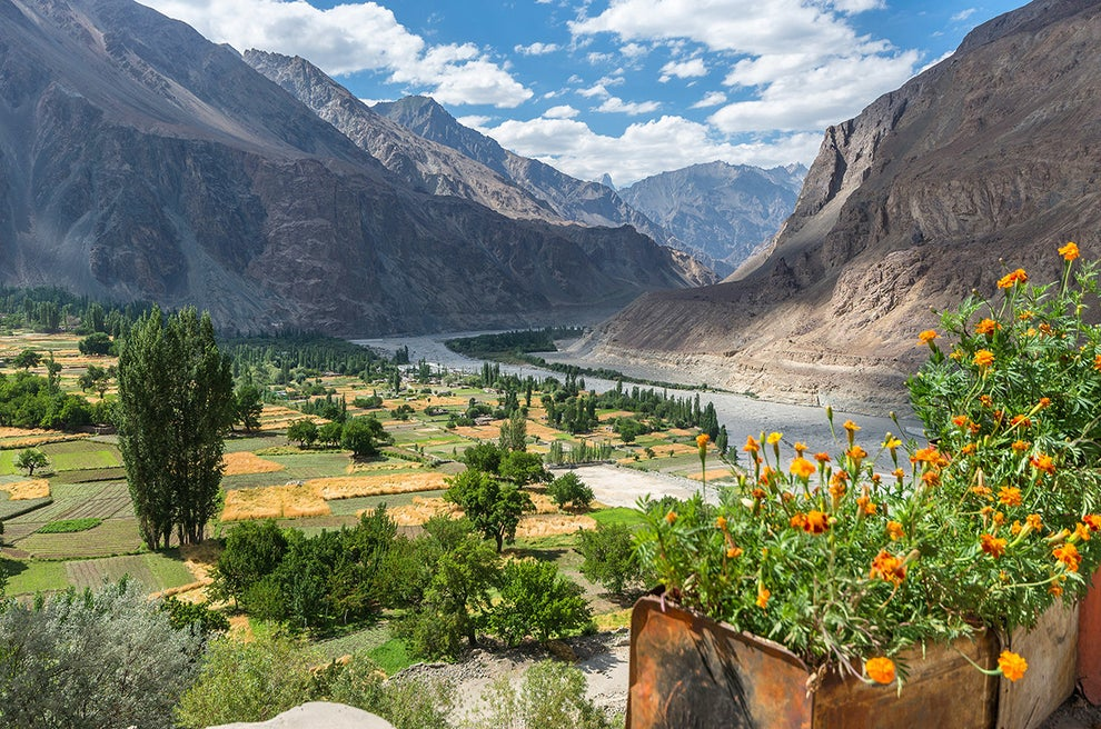 Shyok River — between India and Pakistan