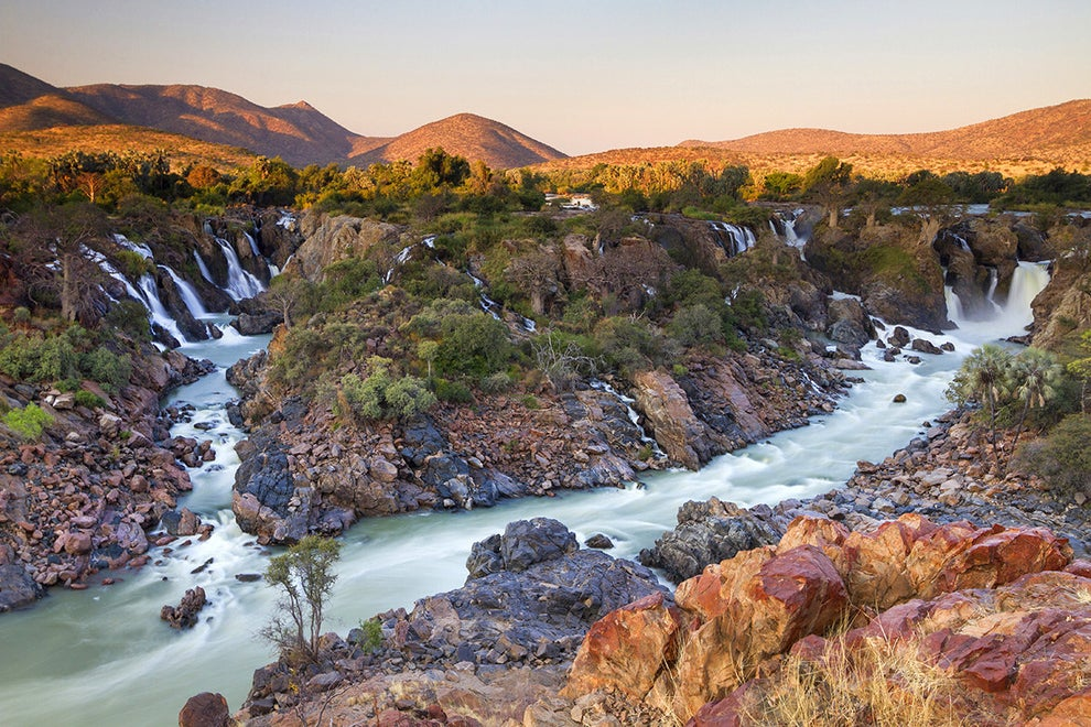 Epupa Falls — between Angola and Namibia