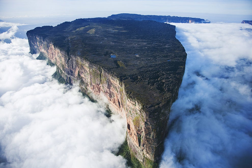 Mount Roraima — between Venezuela, Guyana, and Brazil