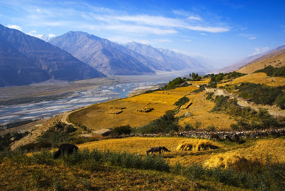 Panj River — between Tajikistan and Afghanistan