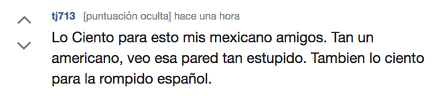 And the messages in the most broken Spanish are the ones that reach us the most.