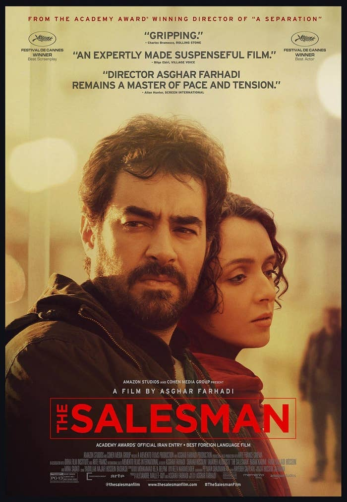 It's the third Iranian film to be nominated in the category. Farhadi's A Separation won the 2011 Oscar in the category, becoming the first Iranian film to do so.
