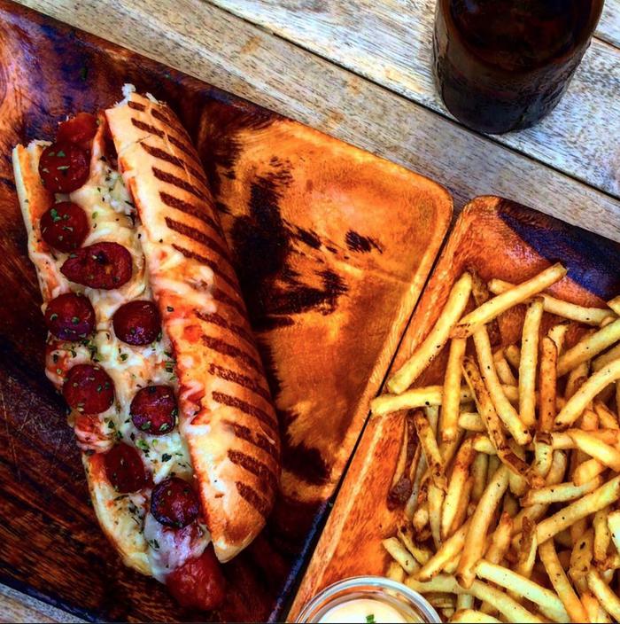 Você conseguiria dizer não a esse recheio de pizza de pepperoni?
