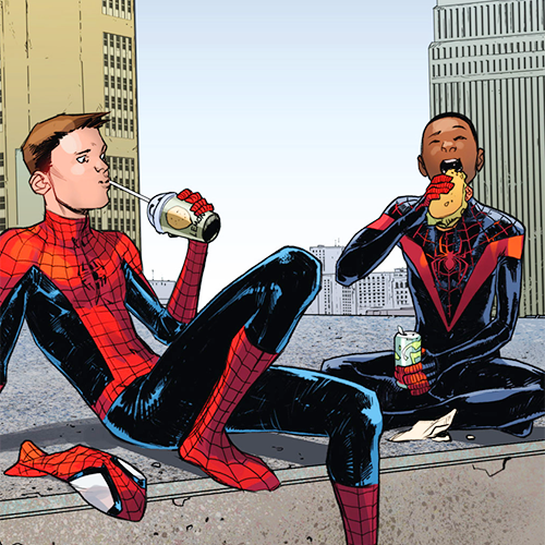 Peter, who has been played in the past by both Tobey McGuire and Andrew Garfield, is currently being portrayed by Tom Holland in the Marvel Cinematic Universe's Captain America: Civil War and Spider-Man: Homecoming. But while we know we've got a major Miles moment coming up, it hasn't yet been announced who will be playing him — or if they've even got a candidate.