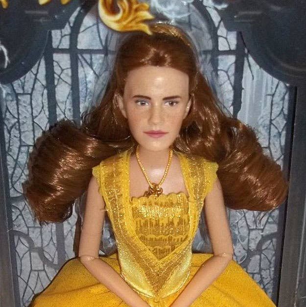 An Artist Fixed The Emma Watson Belle Doll And Now It Looks Perfect