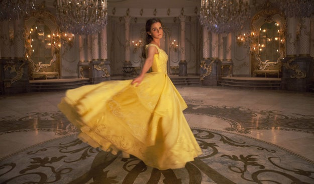We're all VERY excited to see Emma Watson as Belle in the upcoming live action Beauty and the Beast, right?