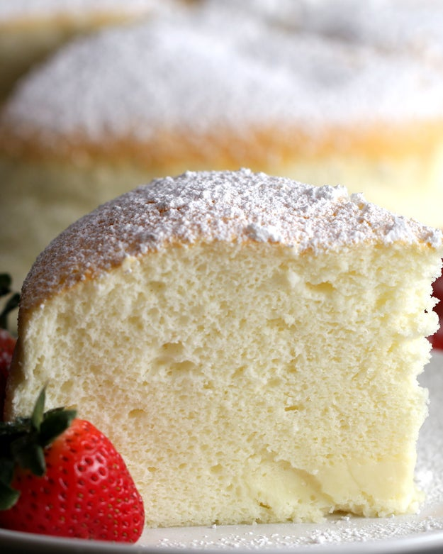 This Jiggly Fluffy Japanese Cheesecake Is What Dreams Are Made Of