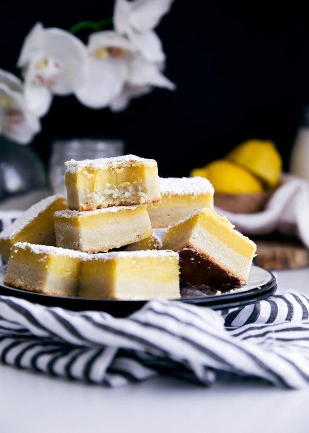 Ginger Lemon Bars