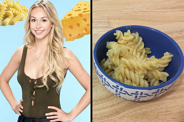 """We Taste Tested Corinne's Cheese Pasta From """"The Bachelor"""" And It Was Questionable"""
