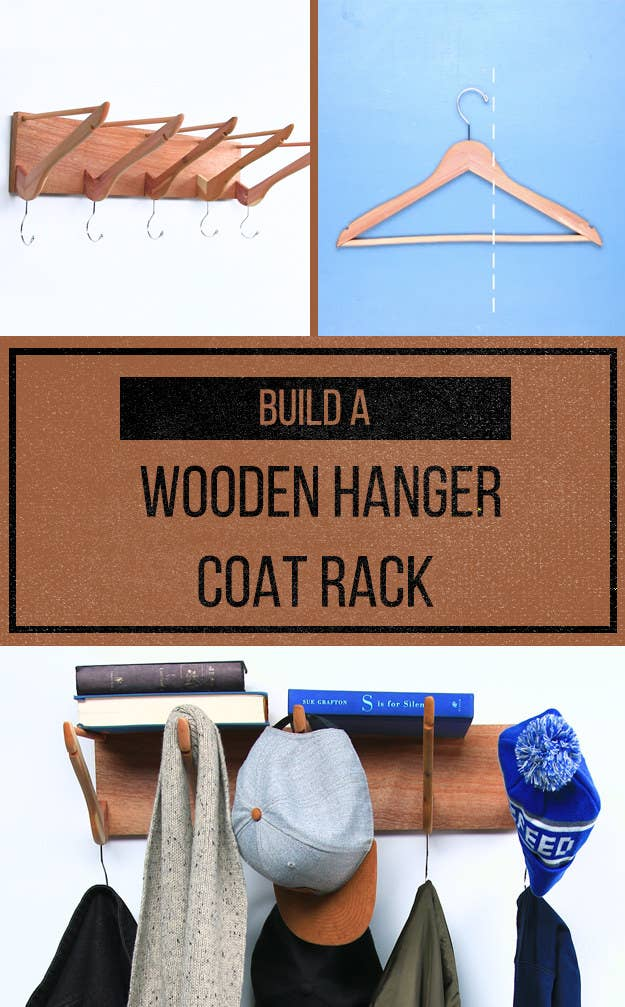 Be The Envy Of All Your Friends With This Clever Diy Coat Rack