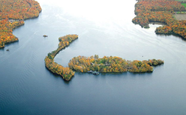 The Island of Happy Days, Wisconsin, USA, $19 million
