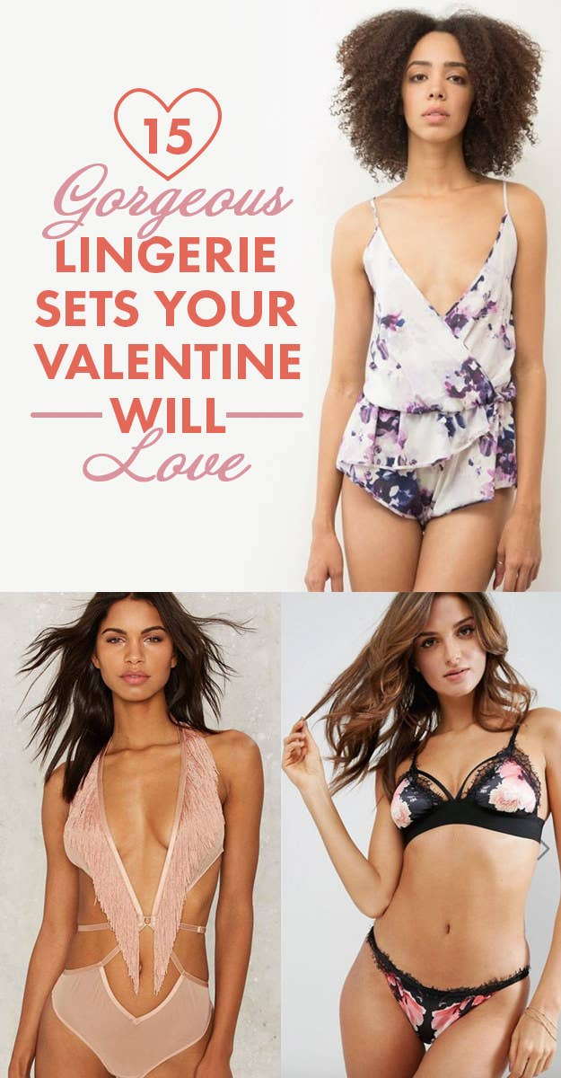 15 Lingerie Sets That Will Make Your Valentine Drool 5ac4a27b0
