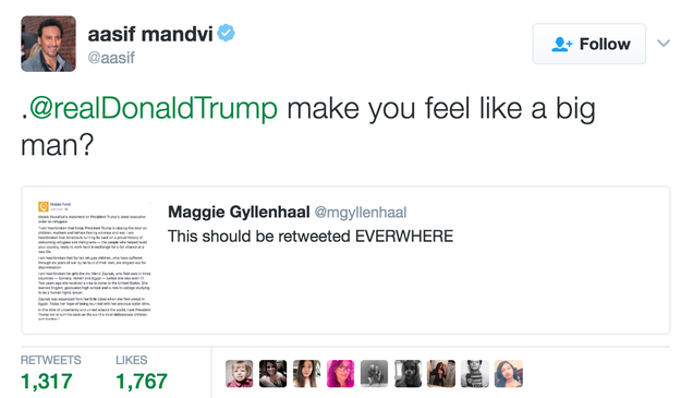 Former The Daily Show correspondent Aasif Mandvi: