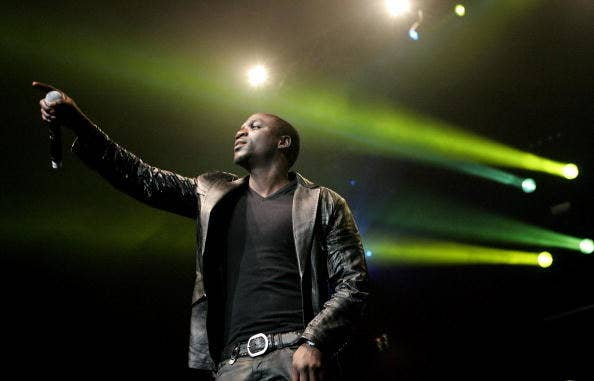 'I was born a Muslim,' Akon told The National. 'Now I am not in a position to judge any man and I don't expect them to judge me as well, but no matter what decision you decide to make just do right by it. Because, at the end of the day, Allah is watching and he knows what is in your heart.'
