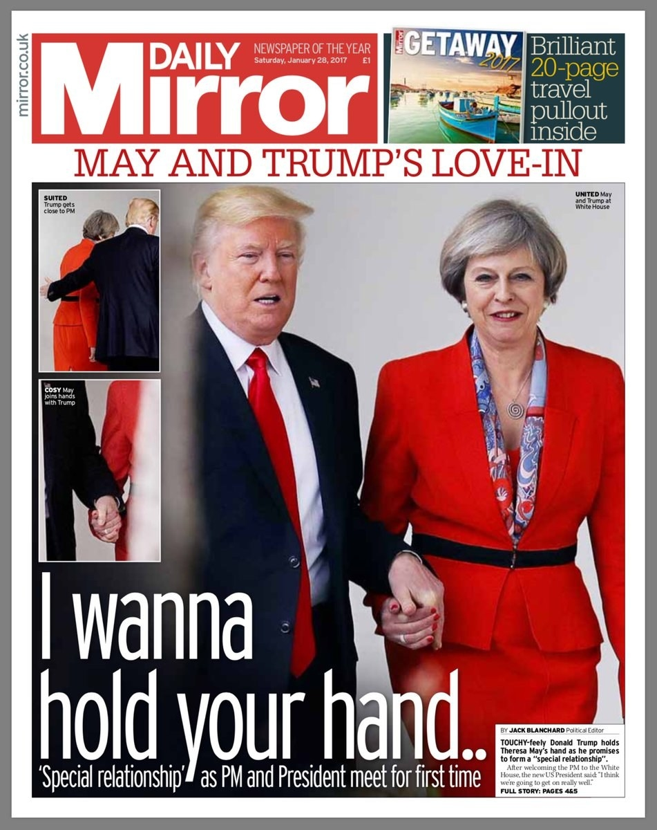 sub buzz 22050 1485608402 1 donald trump held hands with theresa may and it became a meme,