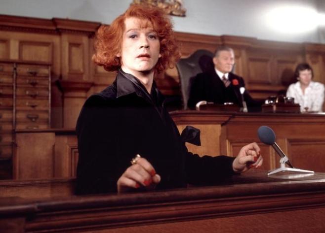 John Hurt as Quentin Crisp