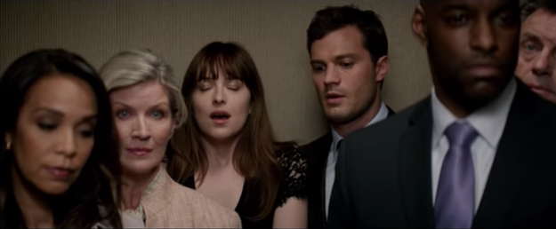 Well, hotel staff are about to see a rise in numbers of couples trying to do the nasty in elevators, and they can thank the new Fifty Shades Darker teaser for that.