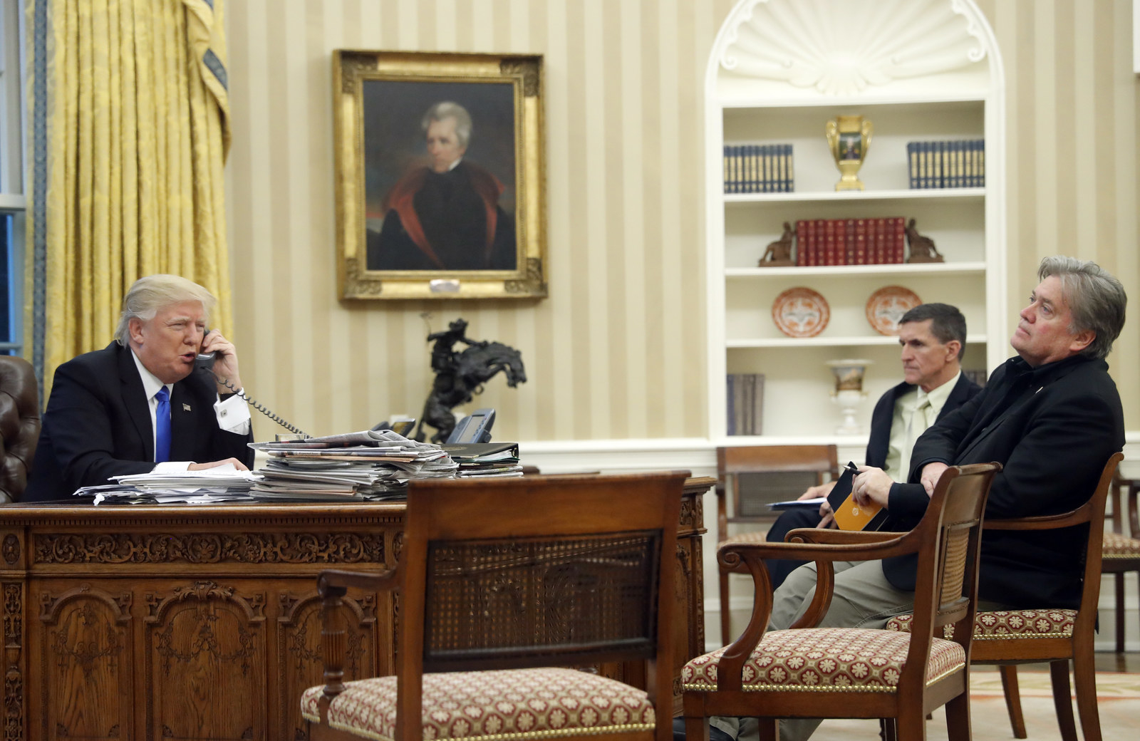 How Steve Bannon Took Charge Of The Trump Administration