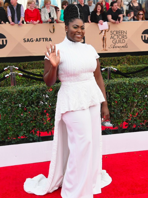 Danielle Brooks graced the red carpet for the 2017 SAG Awards on Sunday and when she stopped to speak to E!, she revealed some news about Orange Is the New Black Season 5.