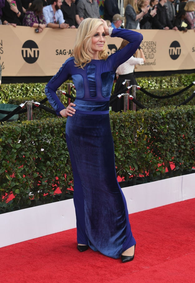 I don't know if you've heard, but Judith Light showed up every other person that appeared at the SAG Awards red carpet tonight.