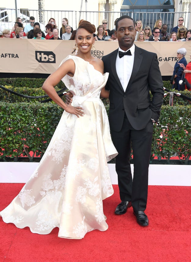 Sterling K. Brown (with Ryan Michelle Bathe)