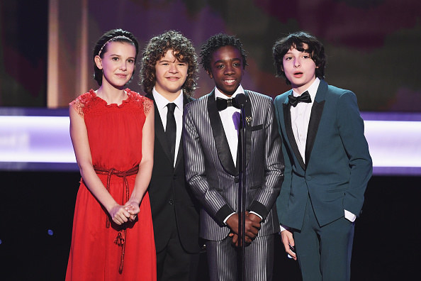 The Stranger Things kids are NEVER ones to disappoint when it comes to looking adorable at award shows, and tonight they turned their cuteness meter ALL the way up: