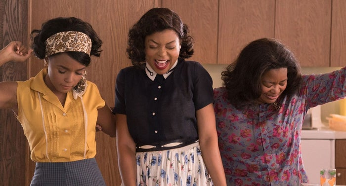 The film, which is based on a true story, stars Taraji P. Henson, Octavia Spencer, and Janelle Monáe who play Katherine G. Johnson, Dorothy Vaughan, and Mary Jackson, respectively. These three women were mathematicians at NASA and were responsible for calculating the equations that would ultimately send astronaut John Glenn in space.