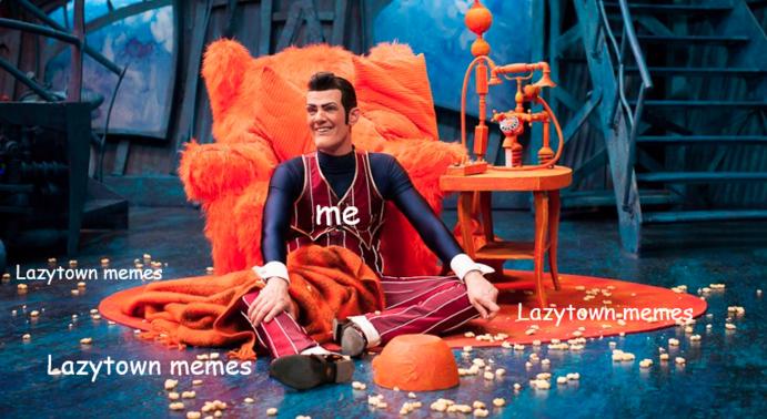 Funny Lazy Town Meme : The lazy dance tumblr
