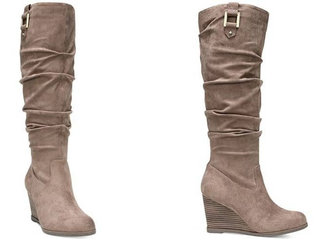 f927354d9b2 Dress up a boring outfit ASAP with these Dr. Scholl's slouch dress boots.