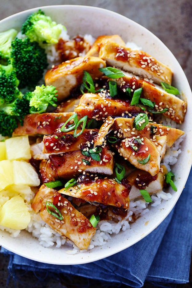 Sweet Island Teriyaki Chicken