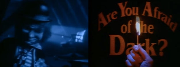 The Are You Afraid of the Dark? opening credits...