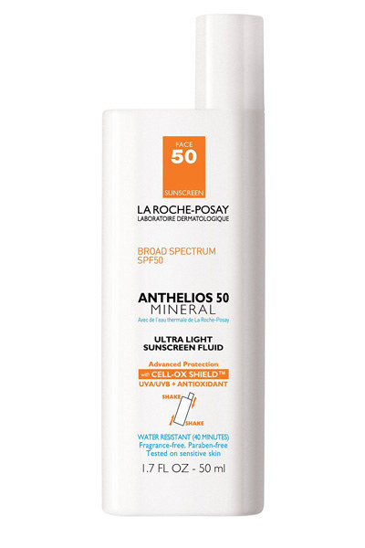 La Roche-Posay Anthelios 50 Mineral Ultra-Light Facial Sunscreen, for superb sun protection -- even if you have sensitive skin.