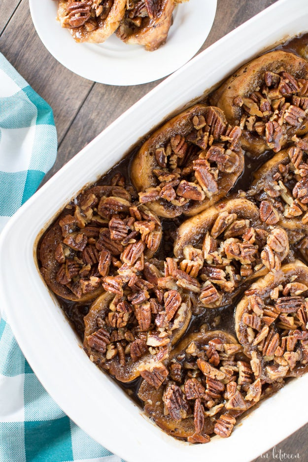Pecan Caramel French Toast Bake