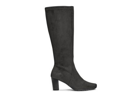 Warm Your Legs Under A Midi Dress With These Elegant Extended Calf Boots That Ll Fit Like Glove