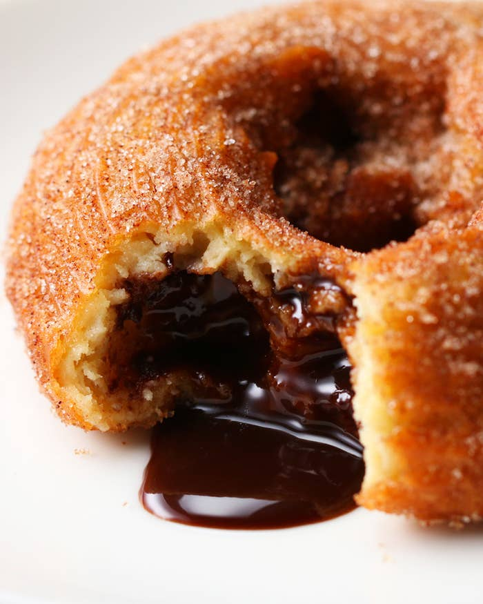 Image result for chocolate stuffed churros