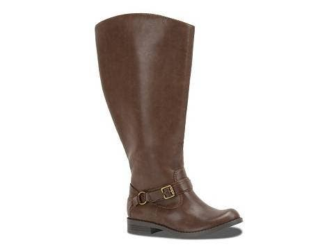 9c6f54bb6d6 Make waves in these comfy, equestrian-style boots that won't rub you the  wrong way.