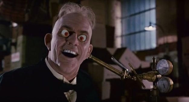 Judge Doom's death scene in Who Framed Roger Rabbit...