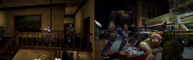 The Resident Evil games...