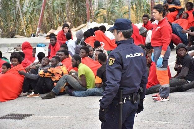 Ceuta, uma cidade espanhola localizada no Marrocos e separada do continente europeu pelo Estreito de Gibraltar, tornou-se porta de entrada para os refugiados da África subsaariana que estão tentando chegar à Europa.