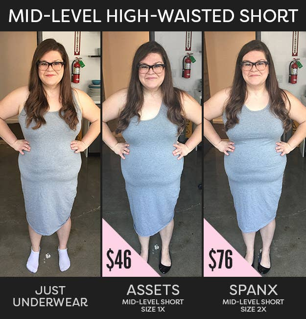 e6ed04d07fcb0 This Is How Differently Priced Spanx Can Actually Make Your Body Look
