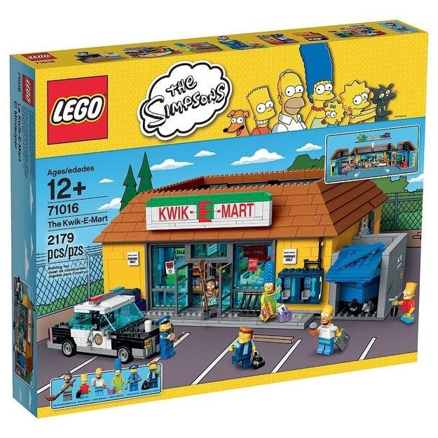 Lego + Los Simpson = horas de diversión asegurada ($4000).