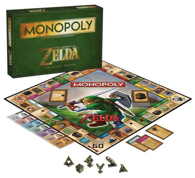 Los fans de Zelda y de Monopoly se volverán locos cuando descubran este juego de mesa ($607).